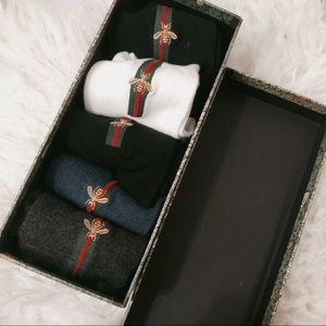 Set of 5 pairs of high quality socks